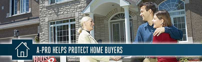 A-Pro New Orleans helps Protect Home Buyers